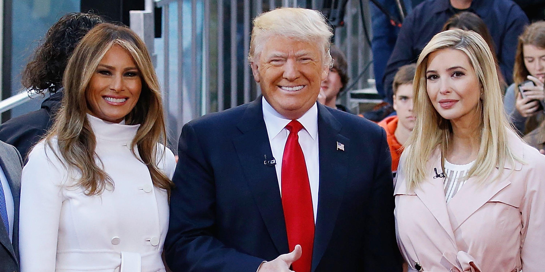 Ivanka Trump Melania