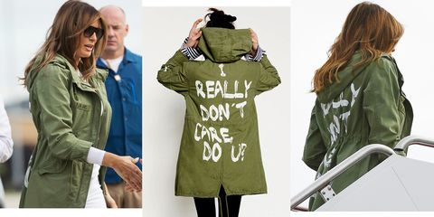'Tone Deaf' Doesn't Even Begin to Describe Melania Trump's Wardrobe Choice