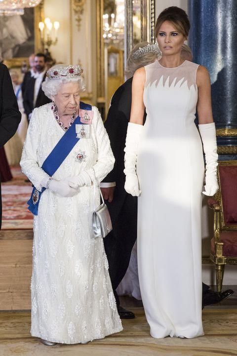 melania Trump looks visita Londres
