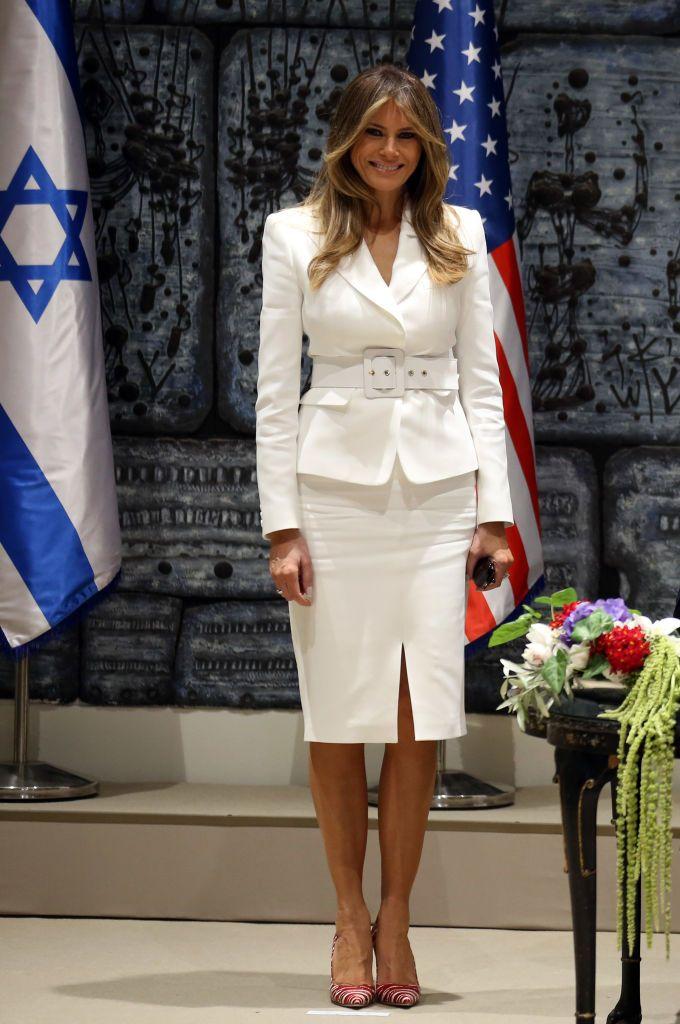 99aae4c50d0 Melania Trump s Most Talked About Looks - Melania Trump Fashion