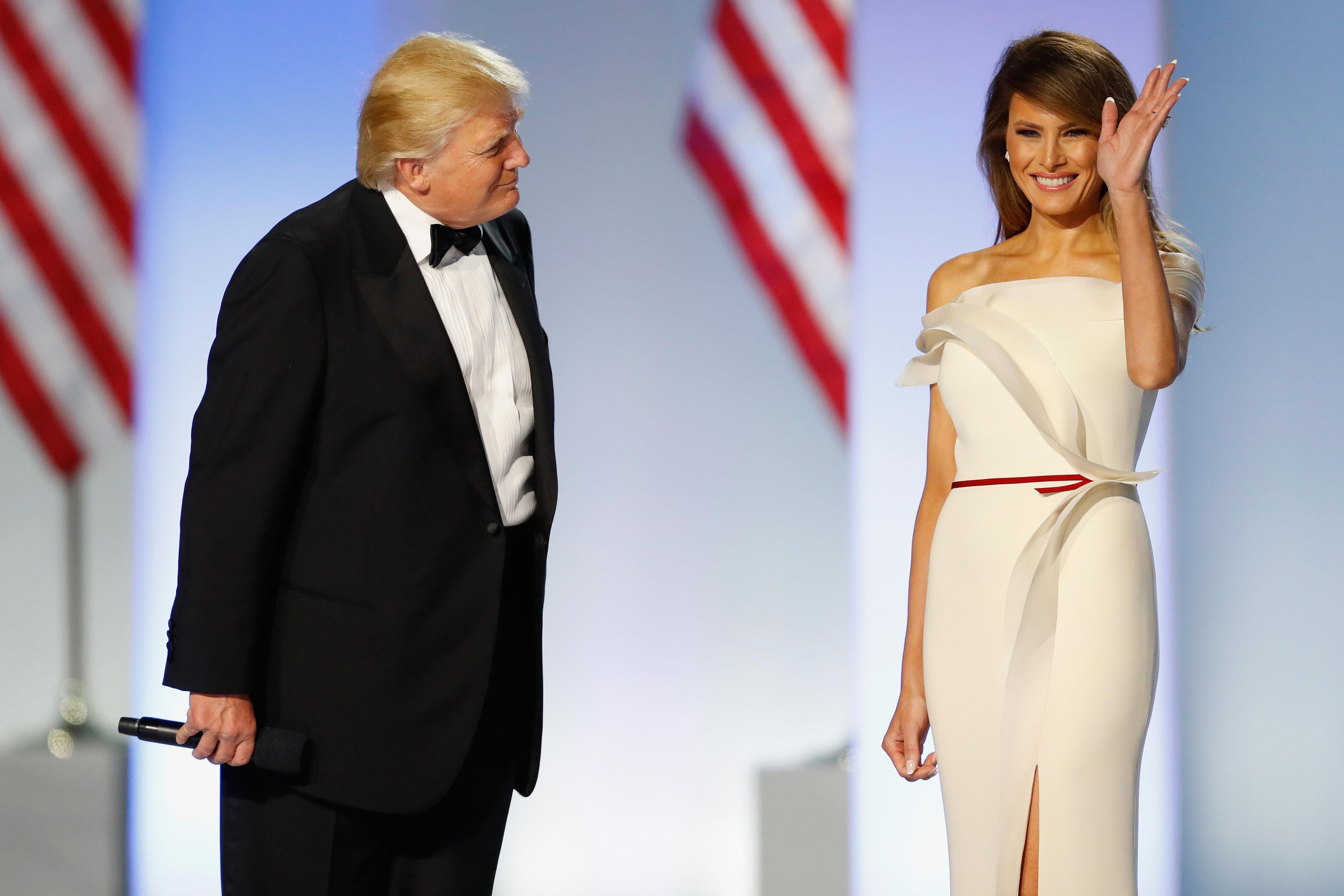 """Melania Trump's Fashion Designer on the First Lady: """"She's Really a  Miraculous Person"""""""
