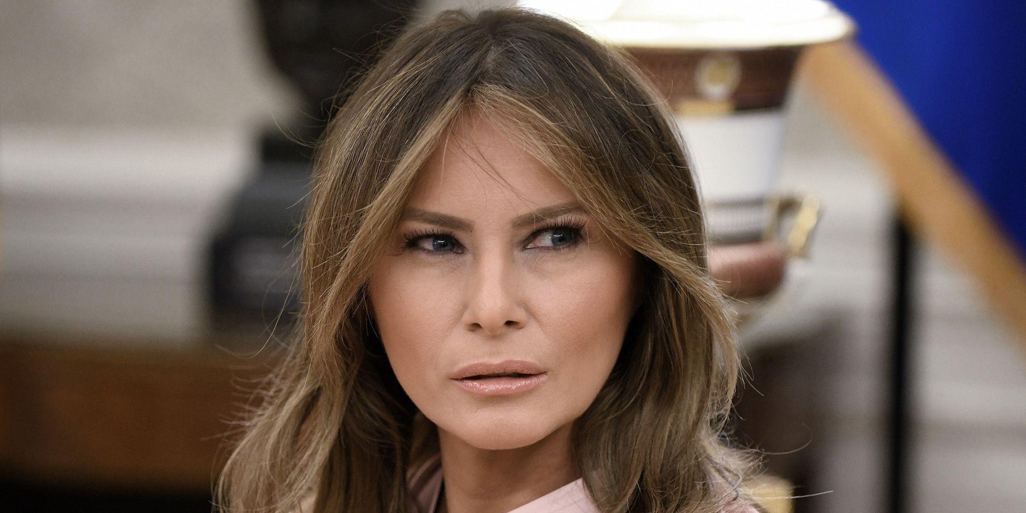 Melania Trump pulls een Jackie Kennedy na haar jas-schandaal