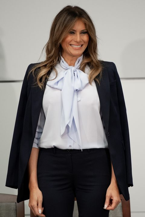 Melania Trump Style As First Lady Photos Of Melania Trump Fashion