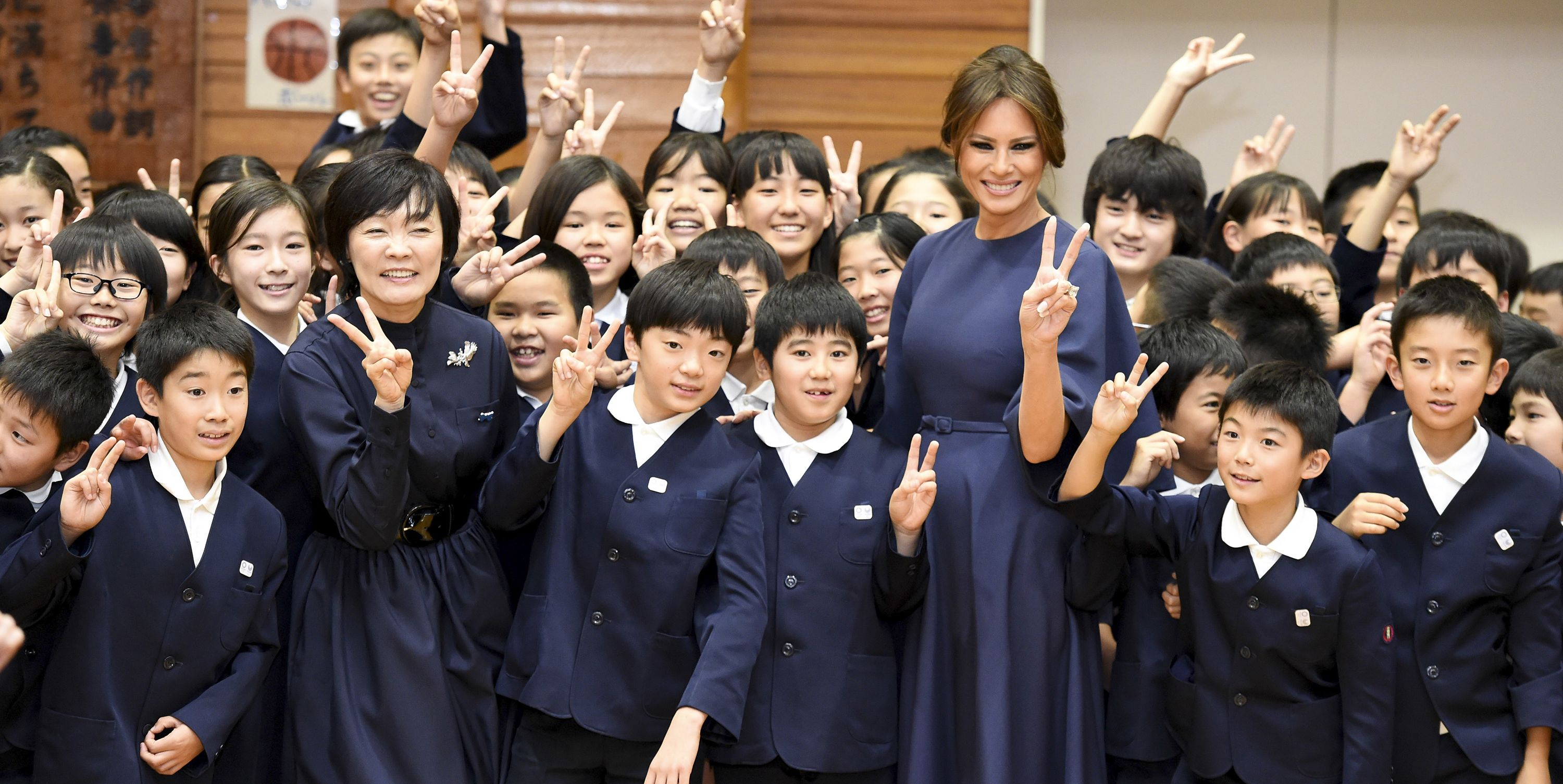 Melania Trump visits China