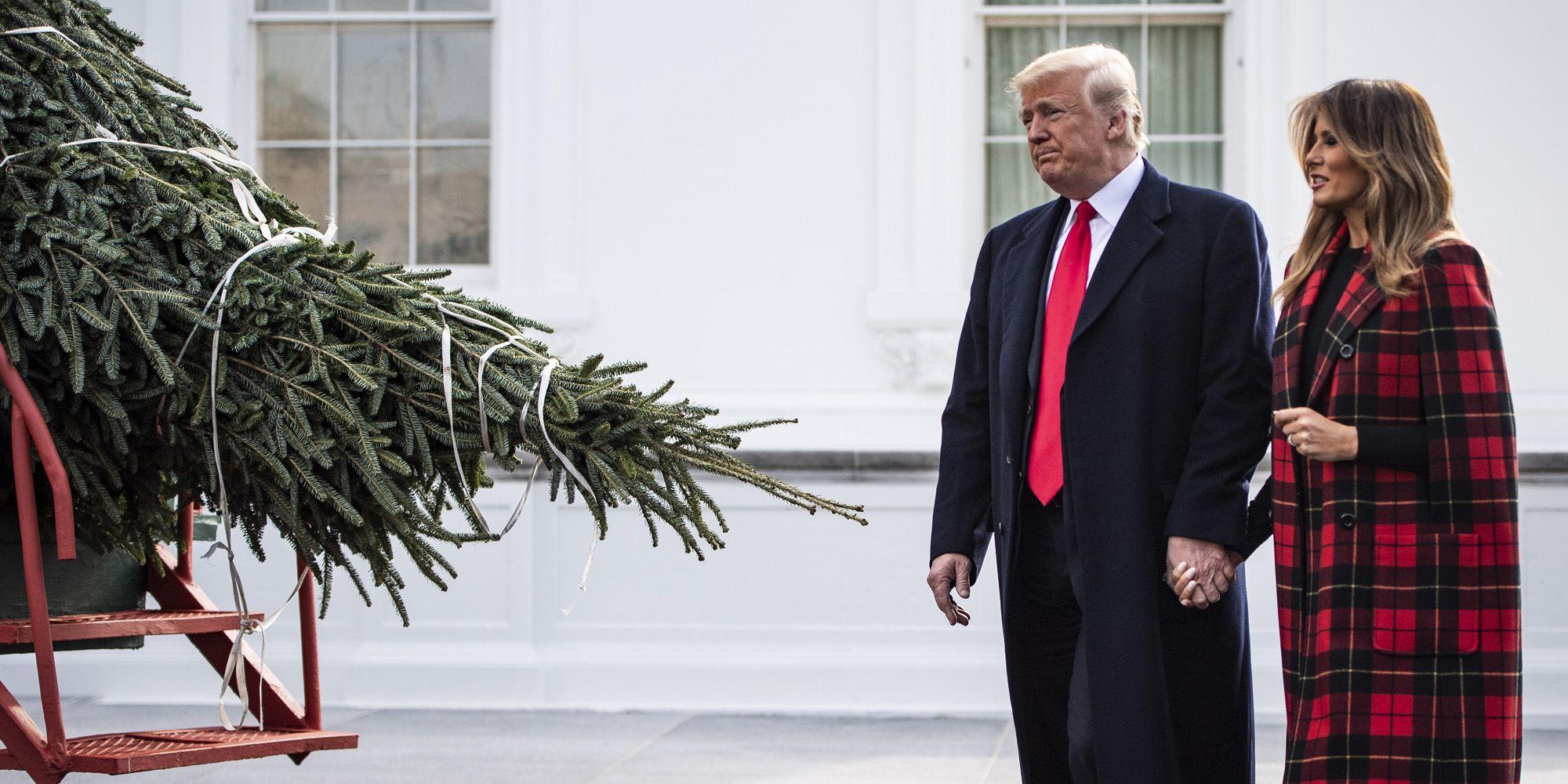Melania Trump, Kerst, Witte huis