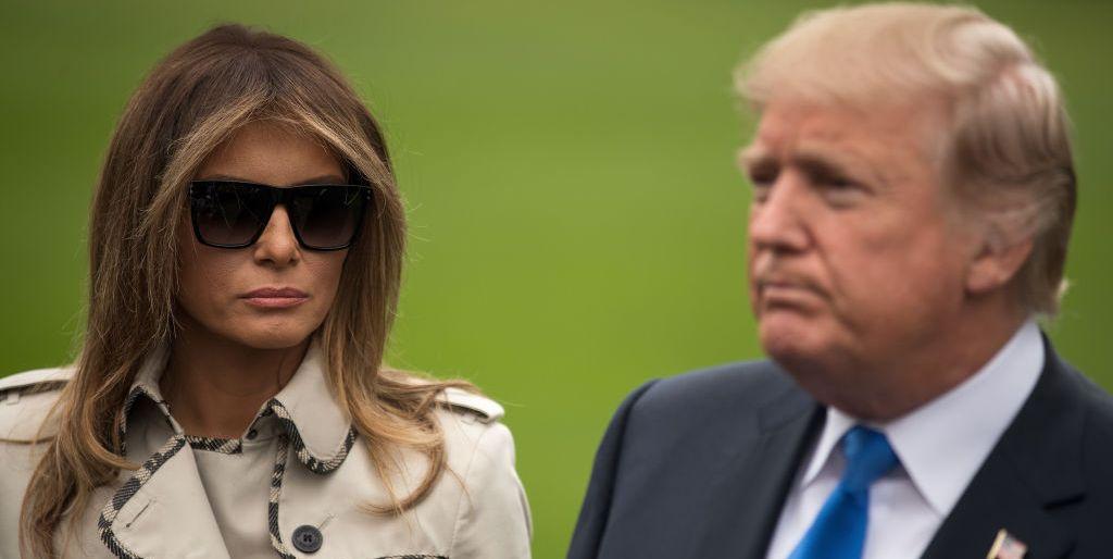 'Fake Melania' Trump and Donald Trump