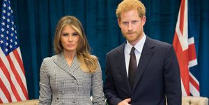 prince harry melania trump
