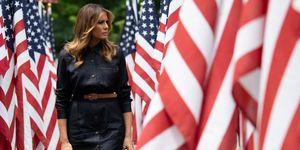 Perché c'è stata una protesta contro Melania Trump a Boston