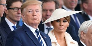 Melania Trump, staatsbezoek engeland