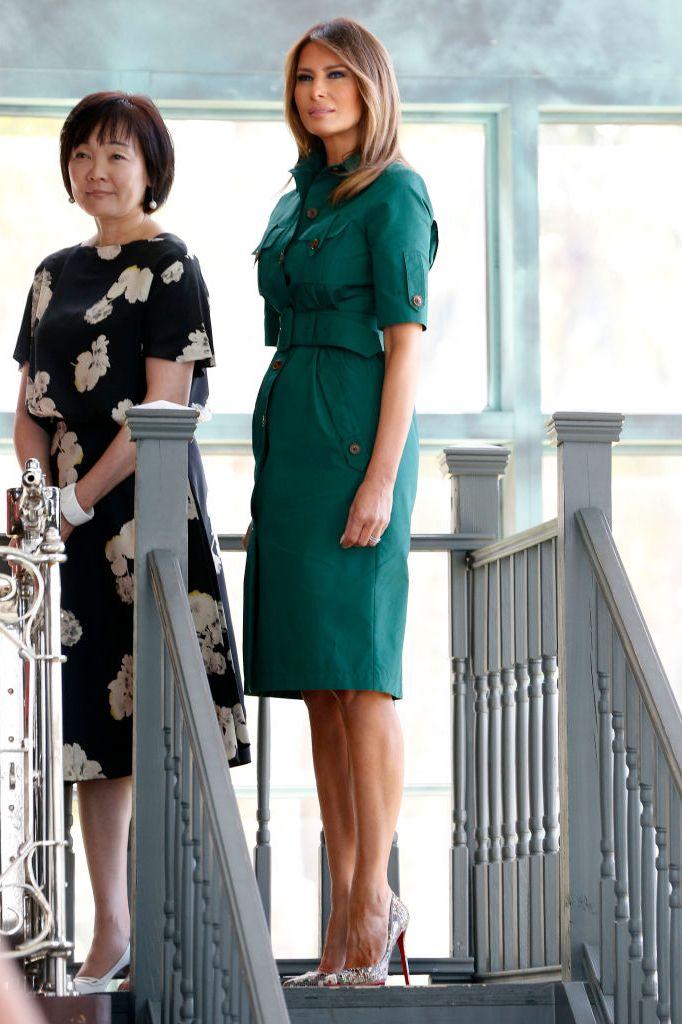 Melania Trump Style As First Lady Photos Of Melania