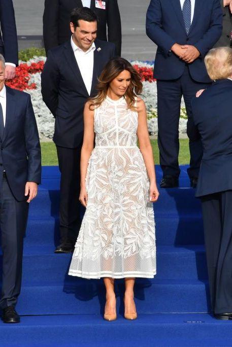 a86051200d31 Melania Trump Style as First Lady - Photos of Melania Trump Fashion