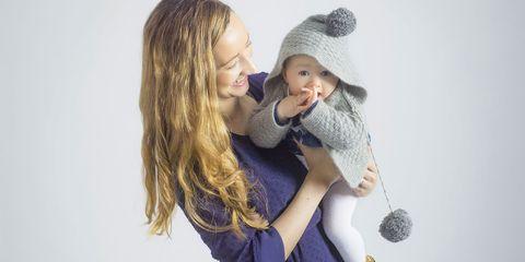 Melanie Berlietportrait with daughter