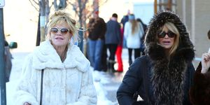Melanie Griffith y Goldie Hawn juntas