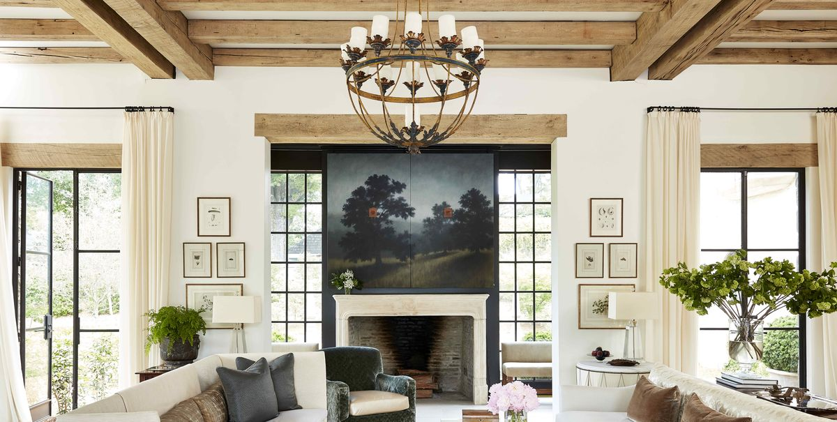Architect Paul Bates and Designer Melanie Pounds Create a Relaxed Country House in Alabama