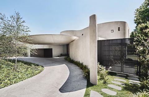 melbourne architecture canopy house leeton point