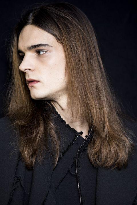 peinados para hombre pelo largo