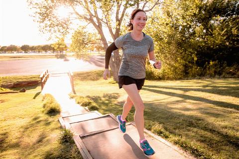 Water, Recreation, Running, Outdoor recreation, Morning, Jogging, Individual sports, Exercise, Sunlight, Leg,