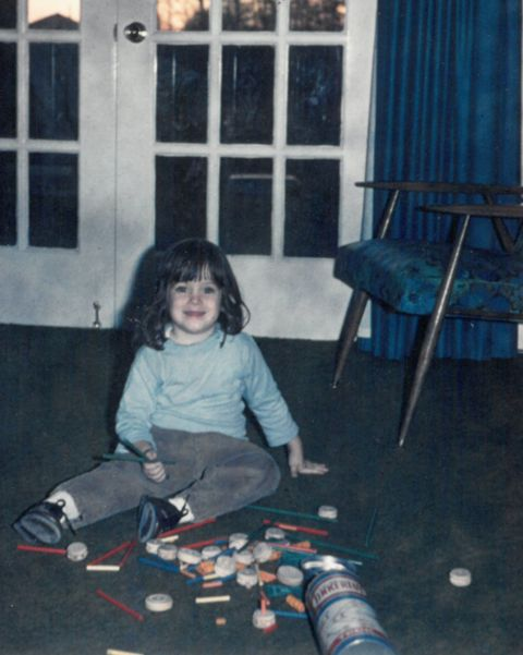 lifelines author and melissa and doug co-founder melissa bernstein at 5 years old
