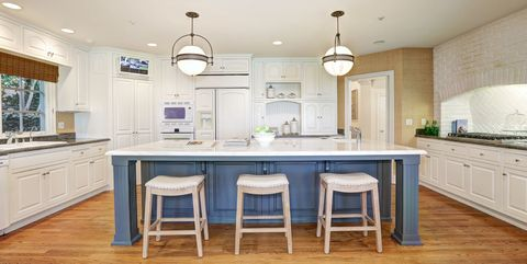 40 Blue Kitchen Ideas Lovely Ways To Use Blue Cabinets And