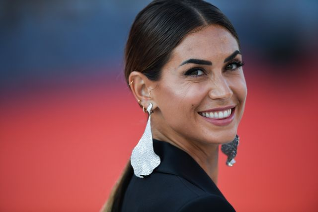venice, italy   august 30 melissa satta attends jaccuse an officer and a spy premiere during the 76th venice film festival at sala grande on august 30, 2019 in venice, italy photo by jacopo raulegetty images