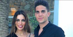 Melissa Jiménez y Marc Bartra, vacaciones en Mykonos