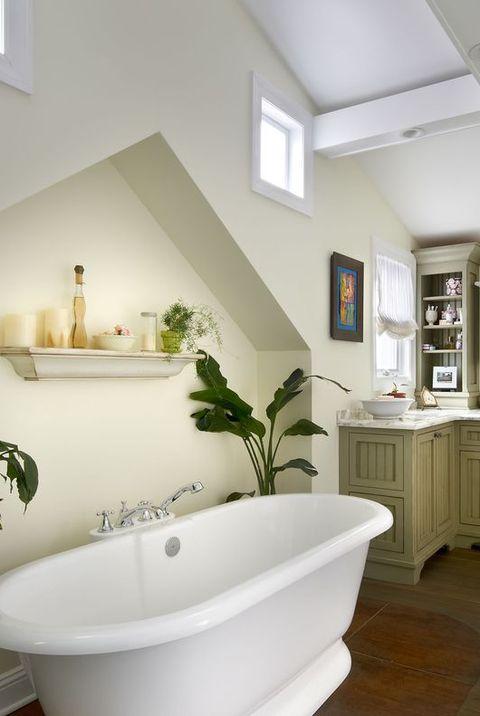 12 Cheerful Yellow Bathroom Decor Ideas - Yellow Bathroom ...
