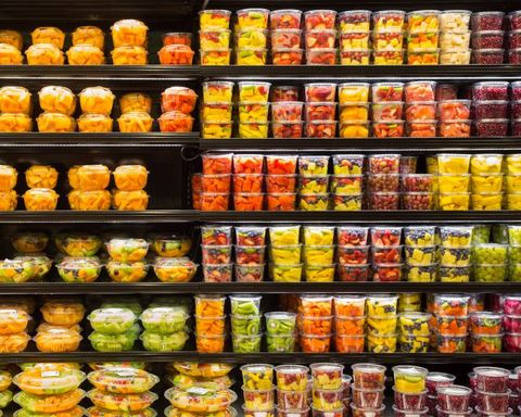 Convenience food, Product, Grocery store, Natural foods, Supermarket, Food, Preserved food, Convenience store, Canning, Whole food,