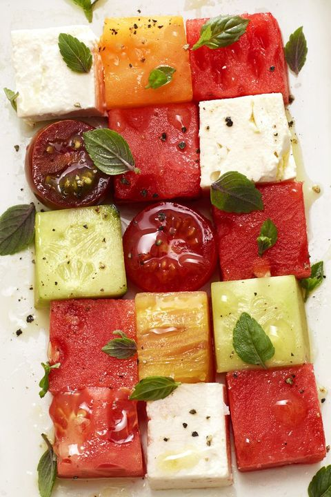 Melon Mosaic - Memorial Day Recipes