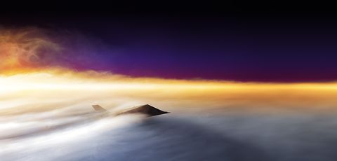 Sky, Horizon, Atmosphere, Cloud, Daytime, Atmospheric phenomenon, Calm, Sea, Morning, Sunrise,