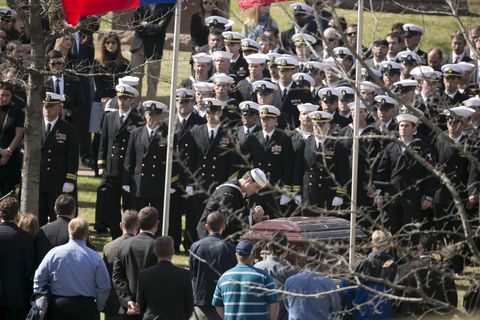 Navy SEAL Chris Kyle laid to rest