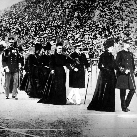 athens interim olympic games 1906   opening ceremony