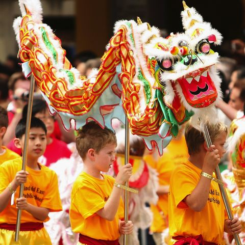 Chinese New Year Parade In Sydney's Chinatown