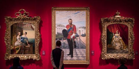 'Russia: Royalty & The Romanovs' Exhibition