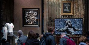 Banksy Confirms New Artwork In Croydon