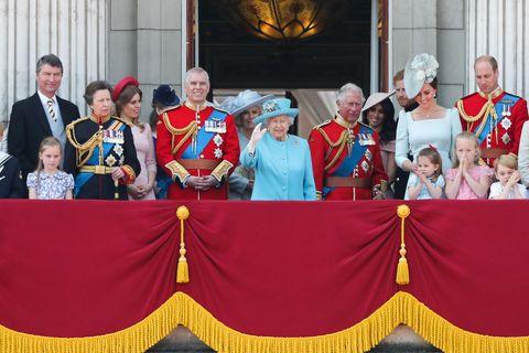 topshot britain royal trooping