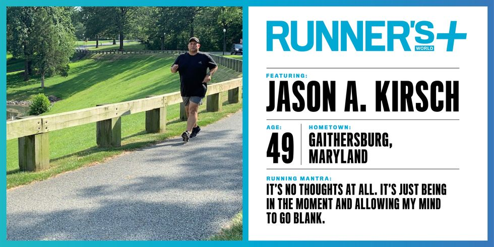 Runner's World+ Member: Jason Kirsch