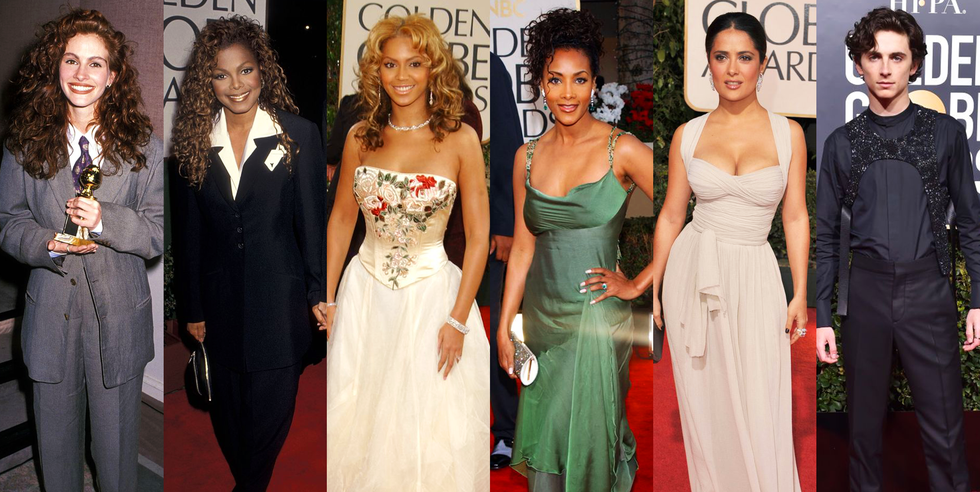 These Are the Most Memorable Golden Globes Looks of All Time