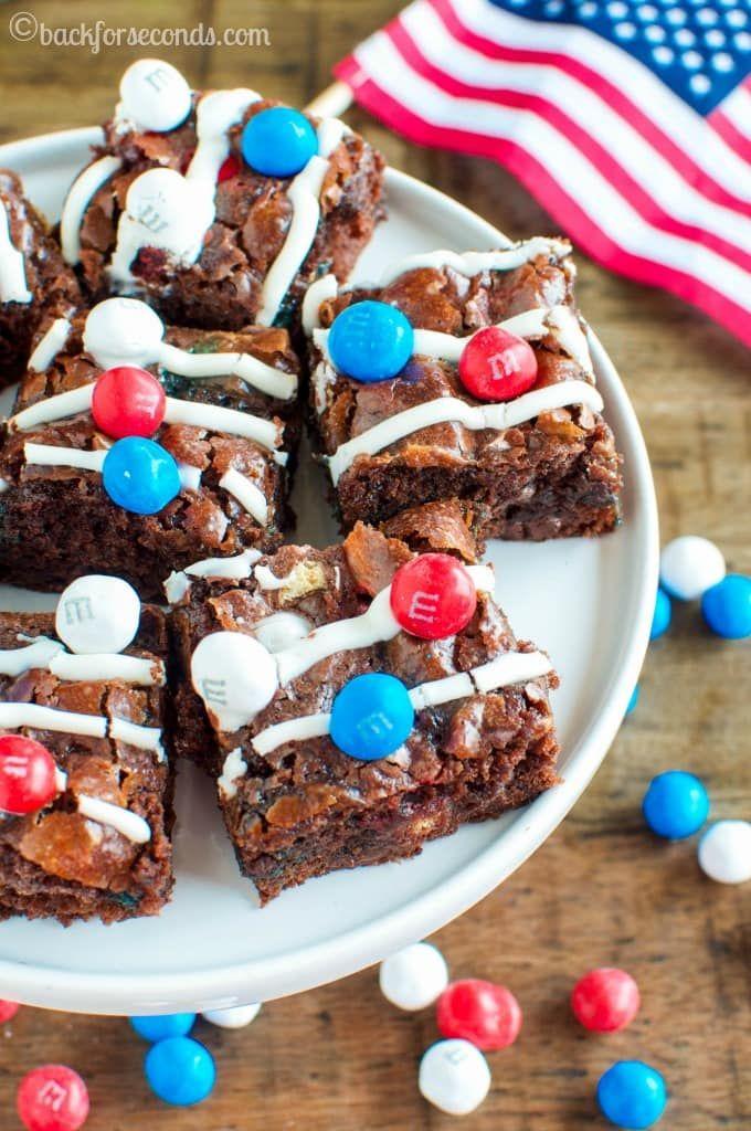 memorial day desserts brownies