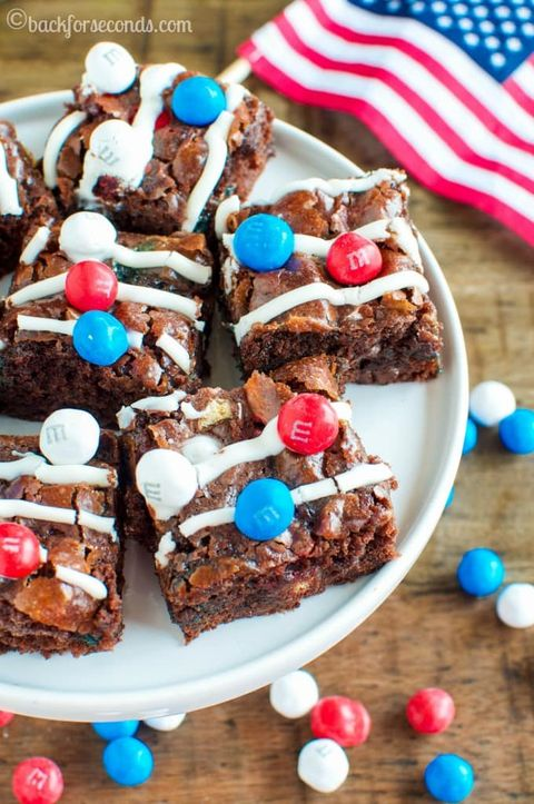 memorial day desserts brownies