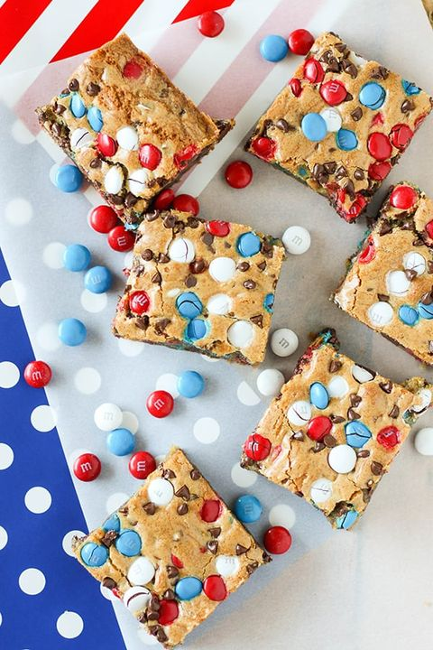 memorial day desserts cookie bars