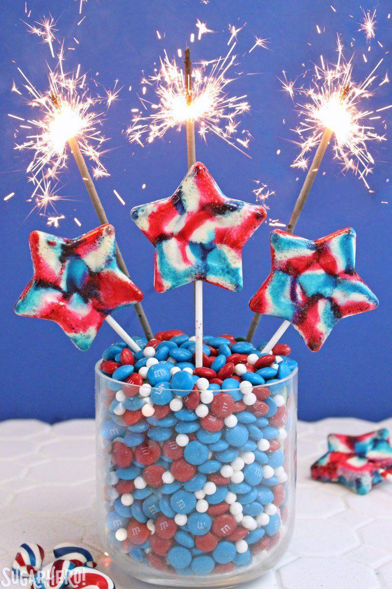 memorial day desserts lollipops