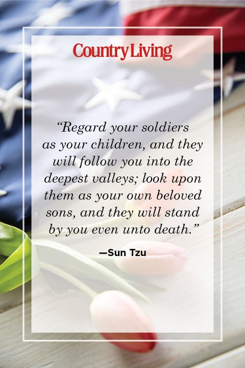 memorial day quote by sun tzu