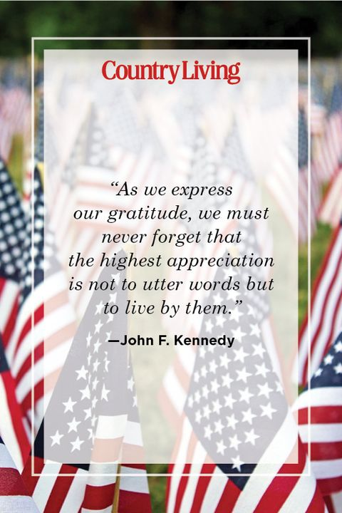 memorial day quote by john f kennedy