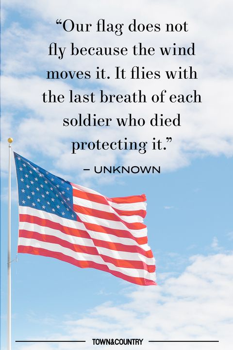 25  Best Memorial Day Quotes 2021 – Beautiful Sayings That Honor US Troops