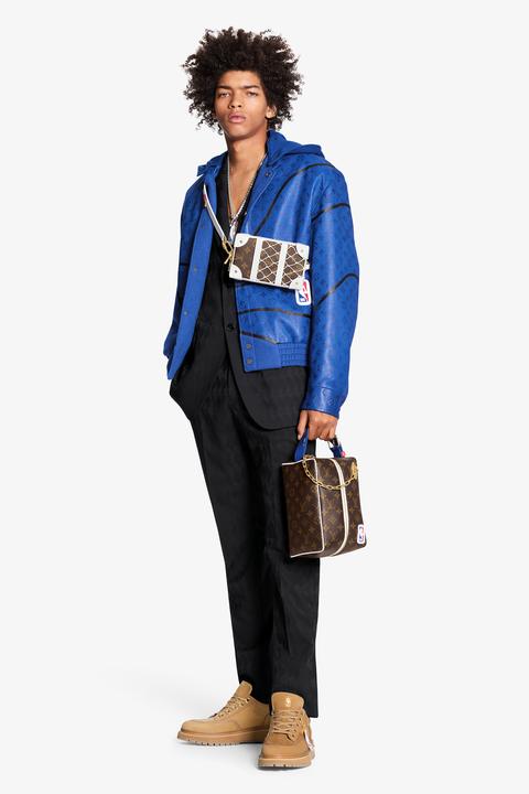 lv聯名nba膠囊系列即將開賣!跨界打造「全明星賽」配色籃球包,奢華版選手服球迷必收