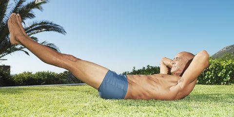 40歳 身体を鍛える,体幹,鍛え方,トレーニング,ワークアウト,腹筋,