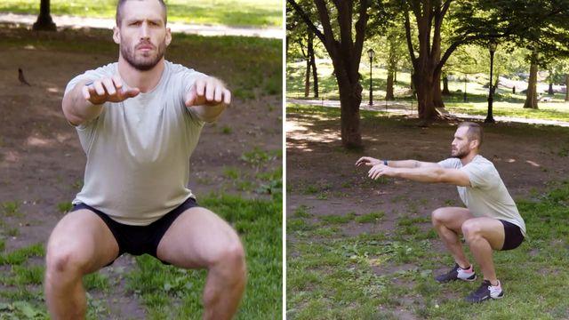 40歳 身体を鍛える,スクワット,鍛え方,トレーニング,ワークアウト,腹筋,大臀筋,大腿四頭筋,ハムストリングス,ヒラメ筋・腓腹筋,体幹,