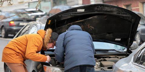 Temperatures plunge in Kyiv