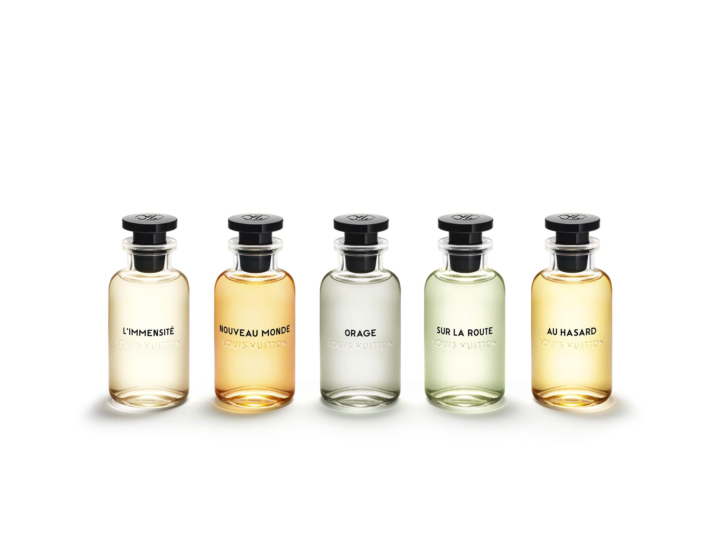 buy online a7ced 43af2 I primi profumi da uomo di Louis Vuitton hanno note rare e ...
