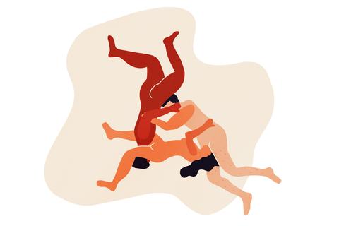 Illustration, Art, Jumping, Dance,
